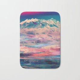 Dusky Mountain Bath Mat