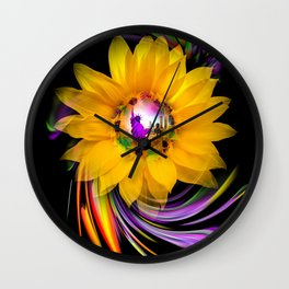 Sunflower - Statue of Liberty Wall Clock