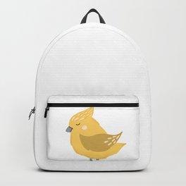Yellow Birdie Backpack