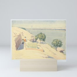 Caminos' Camp at Gebel el-Silsila, 1959 Mini Art Print