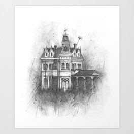 The Creepy and the Kooky Art Print
