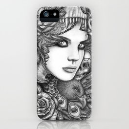 Wolf two iPhone Case