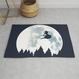 The Moon on Dragon Ball Rug