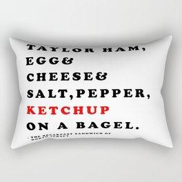 North Jersey Breakfast Rectangular Pillow
