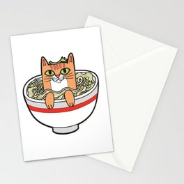 Phở Cat Stationery Cards