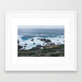 Northern California Coast Photography Framed Art Print