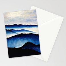 Mountain Landscape. Stationery Cards