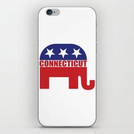 Connecticut Republican Elephant iPhone Skin