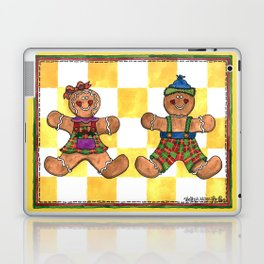 The Gingerbread Twins Laptop & iPad Skin