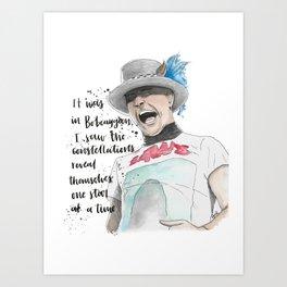 Gord Downie Art Print