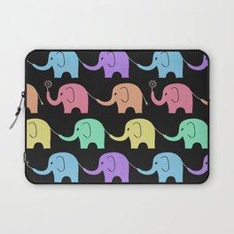 Elephant Midnight Fiesta Laptop Sleeve