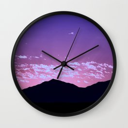 SW Mountain Sunrise - I Wall Clock