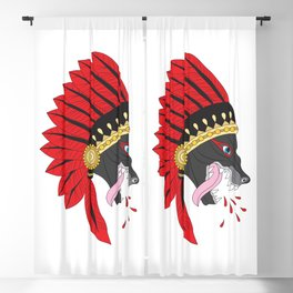 Wolf Chief Blackout Curtain