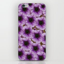 The sky is not the limit for beautiful big flowers iPhone Skin