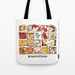 Feast of St. Pizza: Old Forge Edition Tote Bag