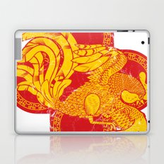 Rooster fire Laptop & iPad Skin