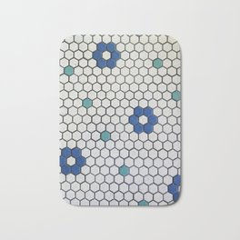 Historic Hexagons Bath Mat