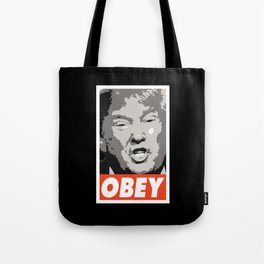 Obey Trump Tote Bag