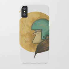 flying to the moon iPhone X Slim Case