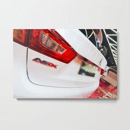 Mitsubishi ASX Back Metal Print