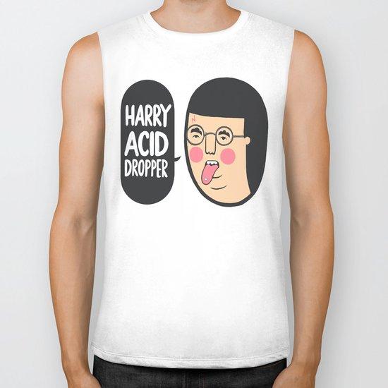 ' Harry Acid Dropper ' Biker Tank