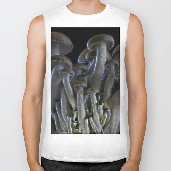 Magic Mushrooms Biker Tank