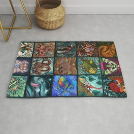 The Unusual Animal Alphabet Rug