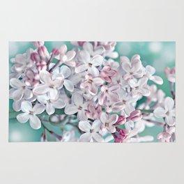 Lilac pink macro 024 Rug