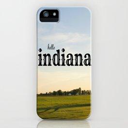 Hello Indiana iPhone Case