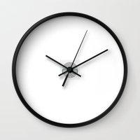 avatar Wall Clocks featuring avatar by nickel33