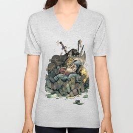 Gnome Chomsky Unisex V-Neck