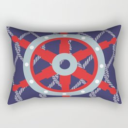 Three sheets to the wind Rectangular Pillow