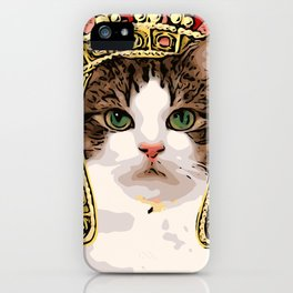 Queen Cat Royale iPhone Case