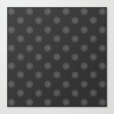 Gnostic Shadow Dot Canvas Print