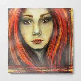 A Girl Called Ina Metal Print