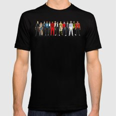 King MJ Pop Music Fashion LV Mens Fitted Tee Black SMALL