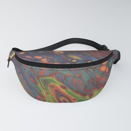 Paint Pouring 68 Fanny Pack
