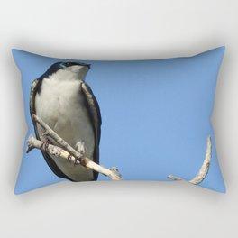 Male Tree Swallow Rectangular Pillow