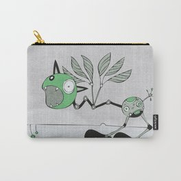Very Green Schrieky Carry-All Pouch