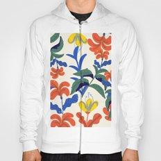 Vintage Floral Pattern Hoody