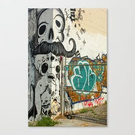 Corner Wall  Canvas Print