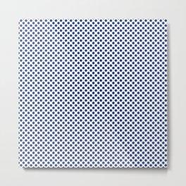 Surf the Web Polka Dots Metal Print