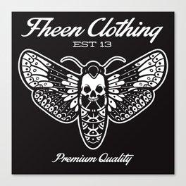 The fheen Moth  Canvas Print