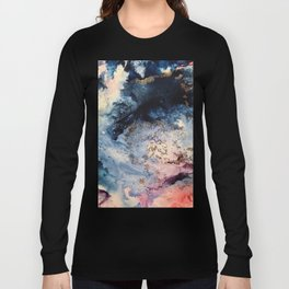 Rage - Alcohol Ink Painting Long Sleeve T-shirt