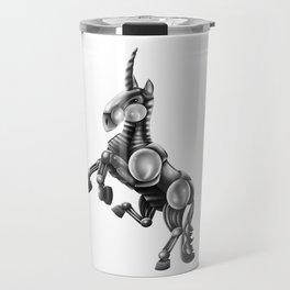 Robot Unicorn Travel Mug