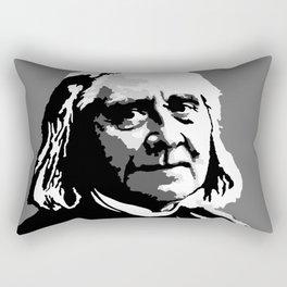 Franz Liszt (1811-1886) in 1886 (digital 1) Rectangular Pillow
