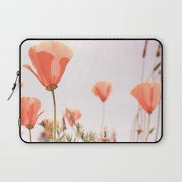 California Orange Poppy Laptop Sleeve