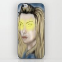 bad wolf iPhone & iPod Skins featuring Bad Wolf by Veratresa