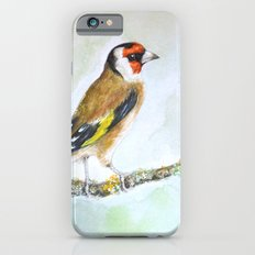 European goldfinch on tree branch iPhone 6s Slim Case