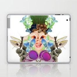 Blue Grass by Lenka Laskoradova Laptop & iPad Skin